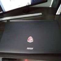 laptop gaming MSI GL62 7rd gtx1050 4gb, ssd 128gb, ram 8GB