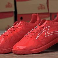 Sepatu Futsal Specs Barricada Ultima Emperor Red Original Promo