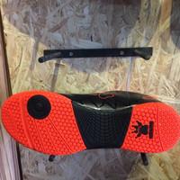 Sepatu futsal kelme original Star 9 black orange new 20 Berkualitas