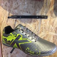 Sepatu futsal kelme original Star Evo Silver lime new 2 Diskon