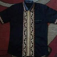 Baju Kemeja Tapis Asli Handmade Bahan Katun