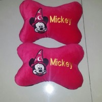 Bantal Mobil Exclusive Only Mickey Merah