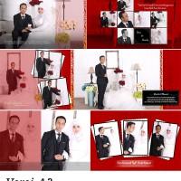 EDIT LAYOUT DESAIN ALBUM KOLASE 10 SHEET (khusus yg cetak album