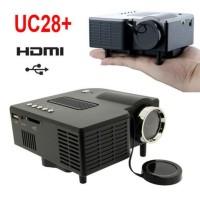 Mini Led Projector UC28 /Proyektor Mini Portable/ Proyektor Mini Murah
