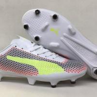 Sepatu Bola Soccer PUMA EvoSpeed SL 2017 White Green