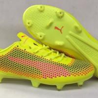 Sepatu Bola Soccer PUMA EvoSpeed SL 2017 Yellow