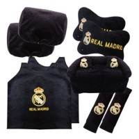 Bantal Mobil Exclusive 5 in 1 Club Real Madrid