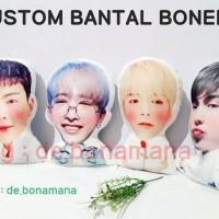 PO BANTAL BONEKA CHIBI BTS EXO KPOP MONSTAX WANNAONE