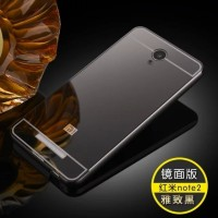 Casing Mirror Alumunium Bumper Xiaomi Redmi Note 2 Prime Hard Case