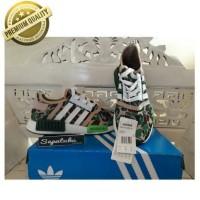 Sepatu Adidas NMD R1 X Bape Green Camo - Premium Quality
