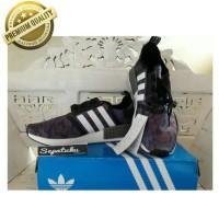 Sepatu Adidas NMD R1 x Bape Black Camo - Premium Quality