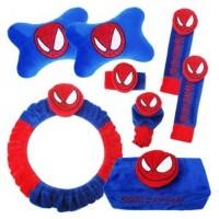 Bantal Mobil Premium 6 in 1 Spiderman