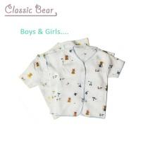 Baju bayu lengan pendek classic bear (3pcs)