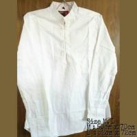 Kemeja Putih Polos Fashion Pria | Lapangan | Casual | Premium Shirt