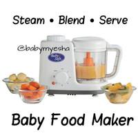 Baby safe food maker processor streamer blender cook alat m pasi