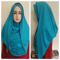 JUAL Hijab / Jilbab Instant Arabian Hoodie Premium Versi Jumbo MURAH M