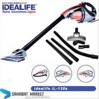Vacuum cleaner & Blower 2 in 1 idealife IL-130S | Vakum Penghisap Debu