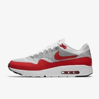 Jabbarsports - Casual Shoes Nike Air Max 1 Ultra Flyknit White Red Ori