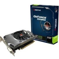 VGA NVIDIA BIOSTAR GT 1030 2 GB DDR5 64 BIT
