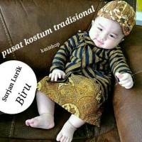 Surjan Lurik/Setelan Baju Lurik Murah bayi dan anak