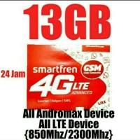 Perdana smartfren 13GB bisa utk all device 4G LTE