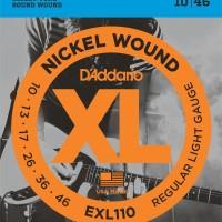 Daddario EXL110 010 Senar Gitar Elektrik D'addario Original USA