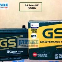 Aki Kering Ns70 / Ns 70 GS Astra Maintenance Free / MF di Tangerang