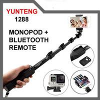 tongsis bluetooth yunteng yt-1288 panjang kamera smartphone dslr