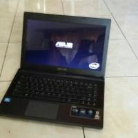 Asus X453s intel Celeron N2840 Ram 2Gb Hardisk 500Gb Siap Pakai