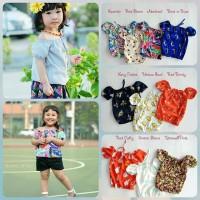 Pakaian / Baju Anak / Atasan / Top Sabrina bahan satin