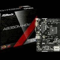 ASRock AB350M-HDV AM4 AMD Promontory B350 DDR4 USB3.0 SATA3 Motherboar