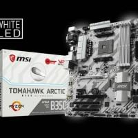 Motherboard MSI Amd B350 Tomahawk Arctic Socket AM4