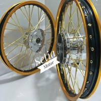 Velg Sepaket Motor All New Cb 150 - Cbr 150 Facelift - Veleg TDR Jari