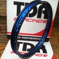 velg tdr 2tone blue black ring 17 1pcs