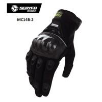 Scoyco MC14B-2 Carbon fiber gloves sarung tangan motor motorcycle