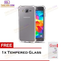 Anti Crack / Shock Softcase Samsung Galaxy Note 4 -Free Tempered Glass
