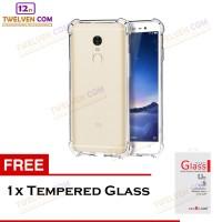 Anti Crack / Shock Softcase Xiaomi Redmi Note 3 - Free Tempered Glass