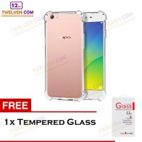 Anti Crack / Anti Shock Softcase Oppo A37 - Free Tempered Glass