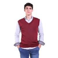 Jfashion Men's Knit Vest Rompi Rajut Pria - Ian