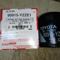 Filter Oli Corolla Twincam 90915-yzze1 asli toyota (08632)