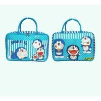 Tas Travelbag Koper Anak Kanvas Karakter Doraemon