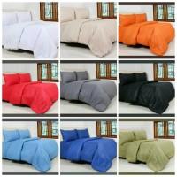 Comforter / Bed Cover Single Size Polos Katun CVC