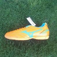 Mizuno Monarcida FS IN Sepatu Futsal - Orange/Blue ocean
