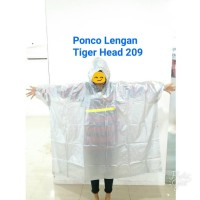 JAS HUJAN PONCO BIG TOP TANGAN TYPE 68209 MERK TIGER HEAD