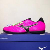 NEW Sepatu Futsal Mizuno Rebula V3 IN Pink Glo Black P1GF178564 Origin