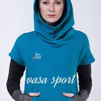 EsorraCropScubaHoodie SPECS/atasan senam muslim original specs