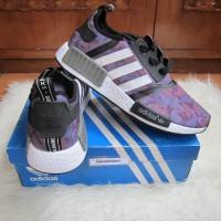Sepatu Adidas NMD R1 X Bape Black Camo