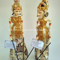 Wayang Golek Rama & Shinta 47 cm