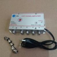 Booster Splitter Antena TV 4 way / Penguat sinyal 4 cabang