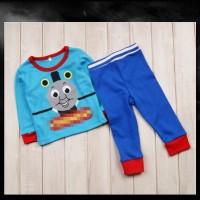 BC1710 Thomas Pajamas Piyama Thomas and Friend baju anak thomas import